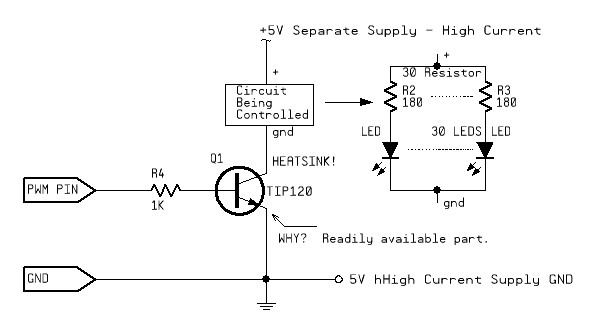 2N2222 Transistor to Switch 433 MHz RF Transmitter