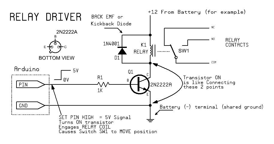 Arduino Leonardo Relay Problem