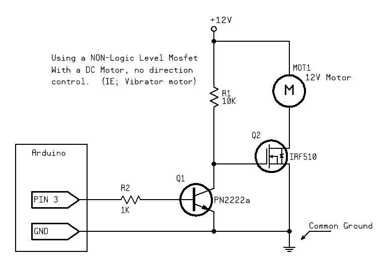 Using MOSFET to Control Peltier